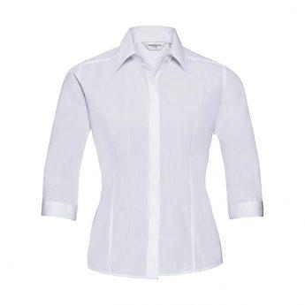 """Ženska srajca 3/4 rokav – """"Poplin"""" – bombaž"""