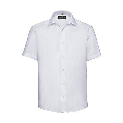 "Moška srajca kratki rokav – ""Non-Iron"" – telirana"