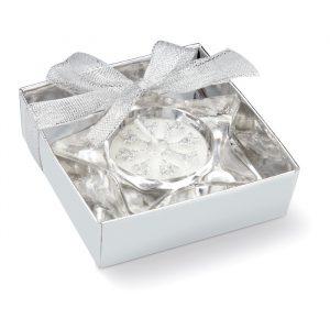 Steklena svečka v obliki zvezde