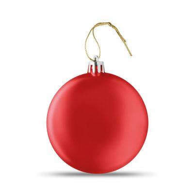 Zaobljeni ploščati božični obesek