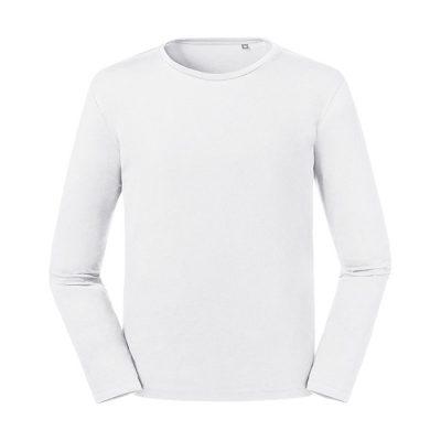 "Moška T-shirt majica – ""Pure Organic"" – dolgi rokav"