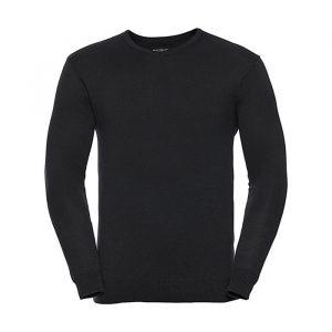 """Moški pleteni pulover – """"V"""" izrez"""