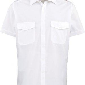 Moška srajca z epoletami – kratki rokav