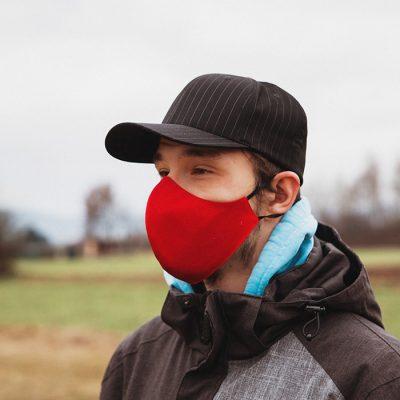 Higienska maska obojestranska – pralna – moška REDDY M